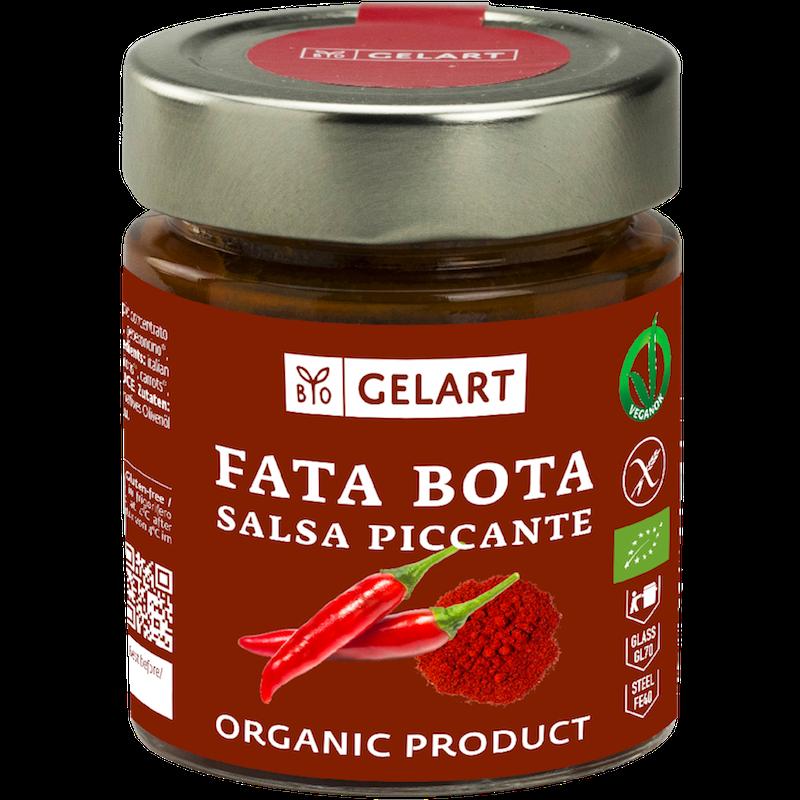 Prodotti Biogelart_salse_Fata bota salsa piccante vasetto